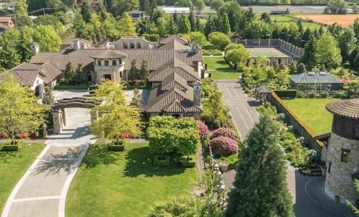 18.09-Acre Tuscan Inspired Estate Hits The Market in Richmond, B.C. For $26-Million (PHOTOS)