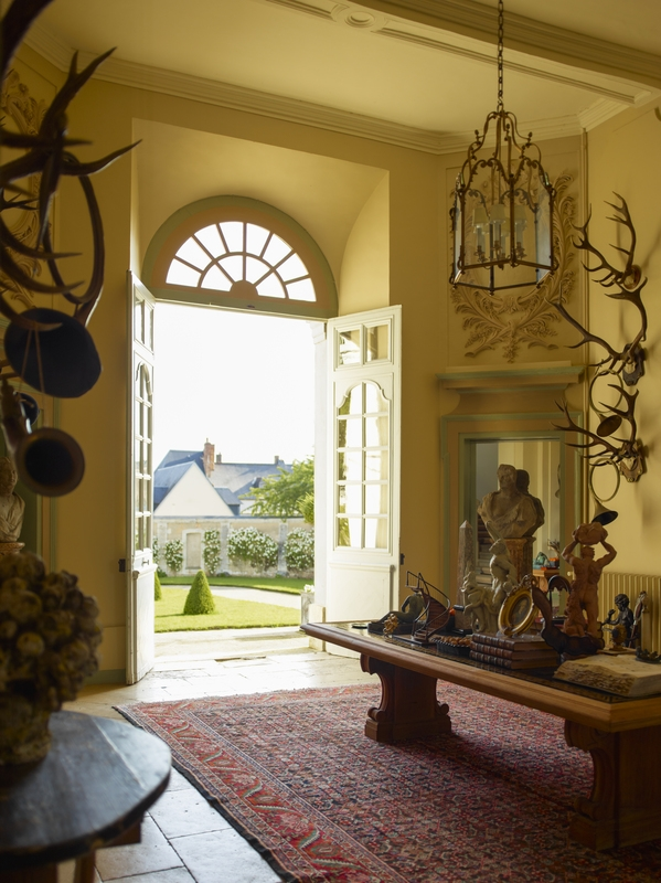 Timothy Corrigan's Restored 18th-Century French Chateau du ...
