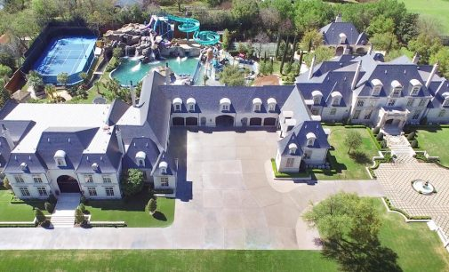Texas Dentist Lists 30,000 Sq. Ft. Manor With Private Waterpark For $33-Million (PHOTOS)