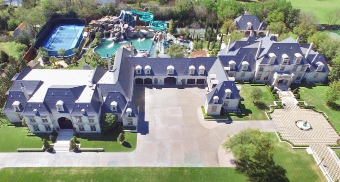 Texas Dentist Drops 10 Bed/21 Bath, 37,000 Sq. Ft. Manor with Private Waterpark to $23.9M, Prev. Listed for $32M (PHOTOS & VIDEO)