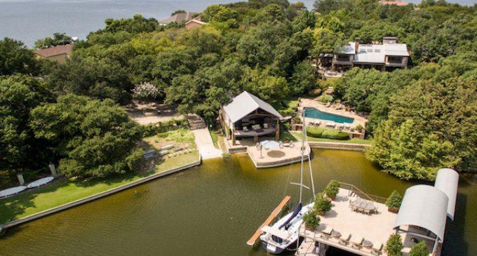 Texas Billionaire Slashes Private Eagle Mountain Lake Compound to $5.999-Million (PHOTOS & VIDEO)