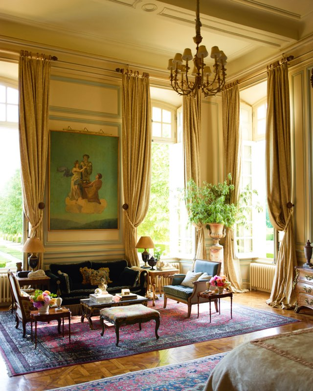 Timothy Corrigan's Restored 18th-Century French Chateau Du
