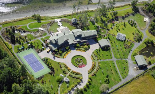 8.39-Acre Central Saanich Waterfront Estate Reduced To $5.288-Million (PHOTOS)