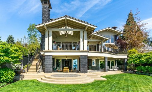 Magnificent West Coast Style Estate Lists in White Rock, B.C. For $12.98-Million (PHOTOS & VIDEO)