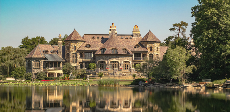 Inside the 50,000 Sq. Ft. Fort Wayne, IN Mansion that Pizza Built (PHOTOS)