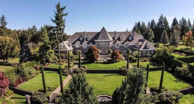 21,000 Sq. Ft. Manor On 9.4-Acres With Loads Of Potential In Salem, OR Reduced To $2.5-Million (PHOTOS)