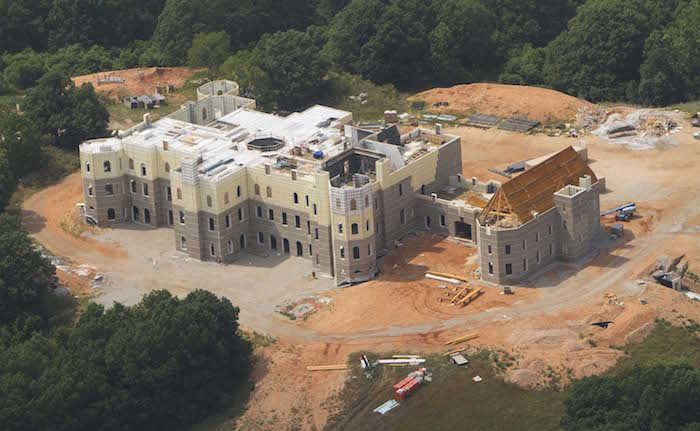 A large residence named Pensmore under construction in southern Christian County off of Woods Fork Road. Bob Linder/The News-Leader