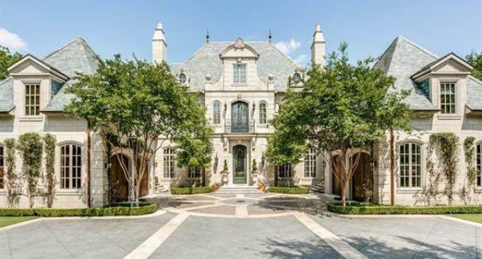 Exquisite 14,000 Sq. Ft. Manor In Highland Park, TX Reduced To $12 Million  (PHOTOS)