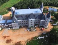 Incredible Drone Footage Of Missouri's 72,215 Sq. Ft. Pensmore Manor (PHOTOS & VIDEO)