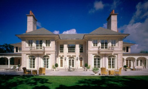 32,500 Sq. Ft. Stone Manor By Shope Reno Wharton (PHOTOS)
