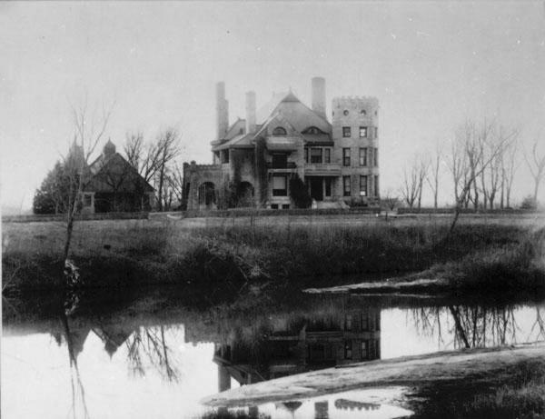 Kansas 1886 Campbell Castle