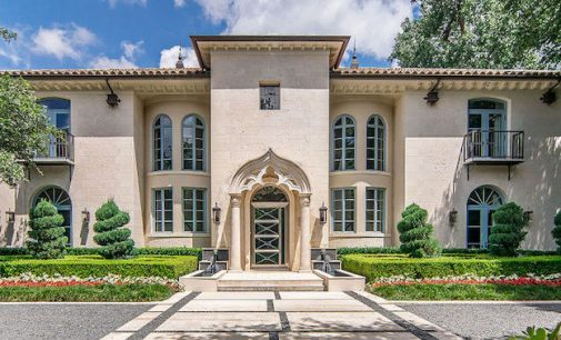 'Casa Bellamini' – A Lavish 8,600 Sq. Ft. Manor On Turtle Creek Yours For $8.9-Million (PHOTOS)