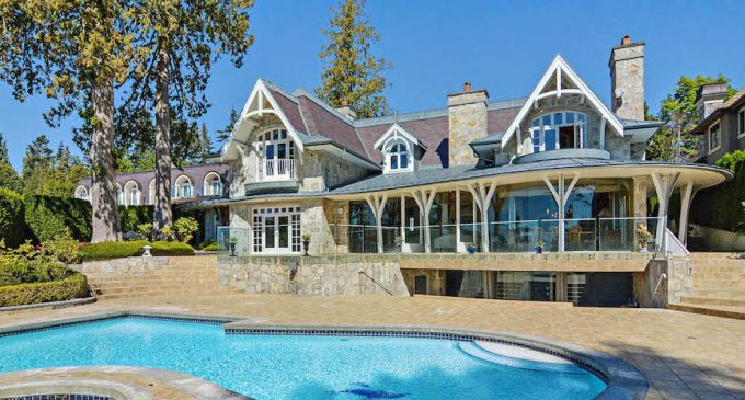 White Rock's 10,740 Sq. Ft. 'Dolphin Gate' Manor Hits The Market For $19.66-Million (PHOTOS & FLOORPLANS)