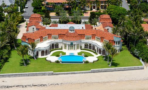 35,000 Sq. Ft. Palm Beach Mansion Reduced To $69.9-Million (PHOTOS)