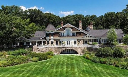 30,000 Sq. Ft. New Jersey Manor On 15-Acres Yours For $45-Million (PHOTOS)