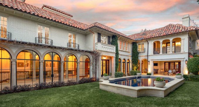 c.1923 Hal Thomson Texas Estate Lists For $9.989-Million (PHOTOS)
