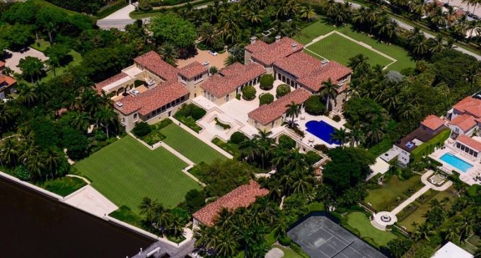 c.1930 5.46-Acre Italian Renaissance-Style Palazzo Lists For $137-Million in Palm Beach, FL (PHOTOS)