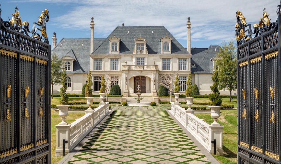 The top 5 most expensive homes currently listed in dallas for Most expensive house in dallas