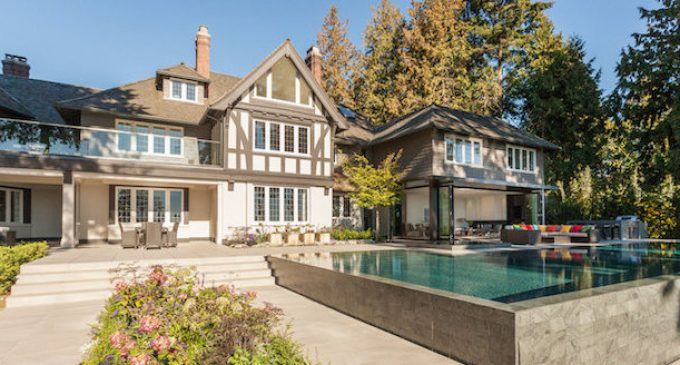 Vancouver's Historic c.1929 'Gables Estate' Goes Modern After Extensive Remodel, Lists For $38-Million (PHOTOS & VIDEO)