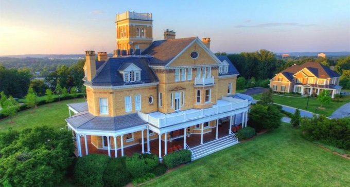 Towson, MD's Historic c.1892 Abell Mansion Reduced To $2.99-Million (PHOTOS & VIDEO)