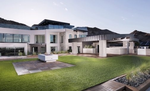 'SkySide', Six-Level 23,000 Sq. Ft. Las Vegas Pad Lists For $30-Million (PHOTOS & VIDEO)
