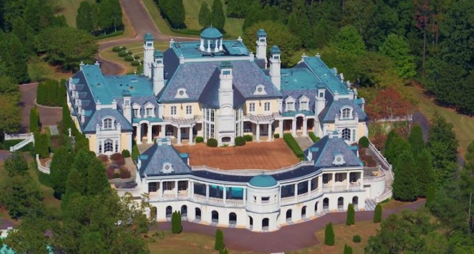 Sweet Home Alabama, 54,000 Sq. Ft. Château with 15 Bedrooms & 24 Bathrooms Heading To Auction (PHOTOS & VIDEO)