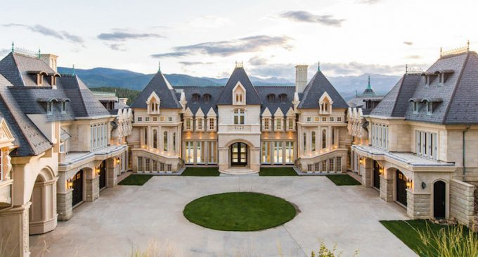 21,000 Sq. Ft. Biltmore-Inspired Château in Colorado Reduced to $12.9M, Prev. $17.5M (PHOTOS)