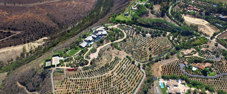 26,000 Sq. Ft. Rancho Santa Fe Mansion Once Priced At $60-Million, Reduced To $45-Million (PHOTOS & VIDEO)