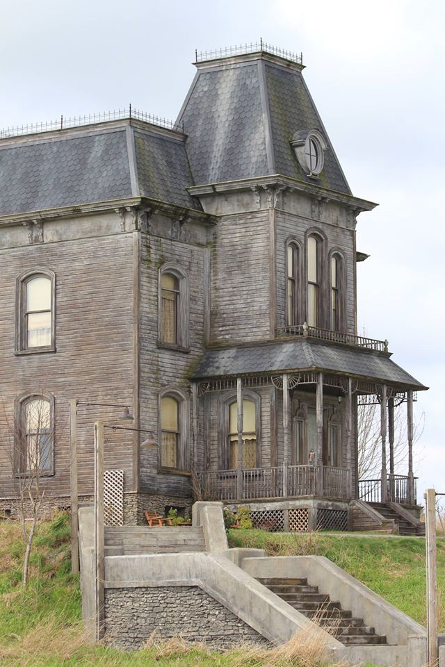 Bates Motel Norma Bates Iconic Gothic Mansion In