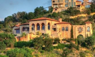 13,000 Sq. Ft. Mediterranean On 10-Acres Overlooking Lake Travis Lists For $9.9-Million (PHOTOS)
