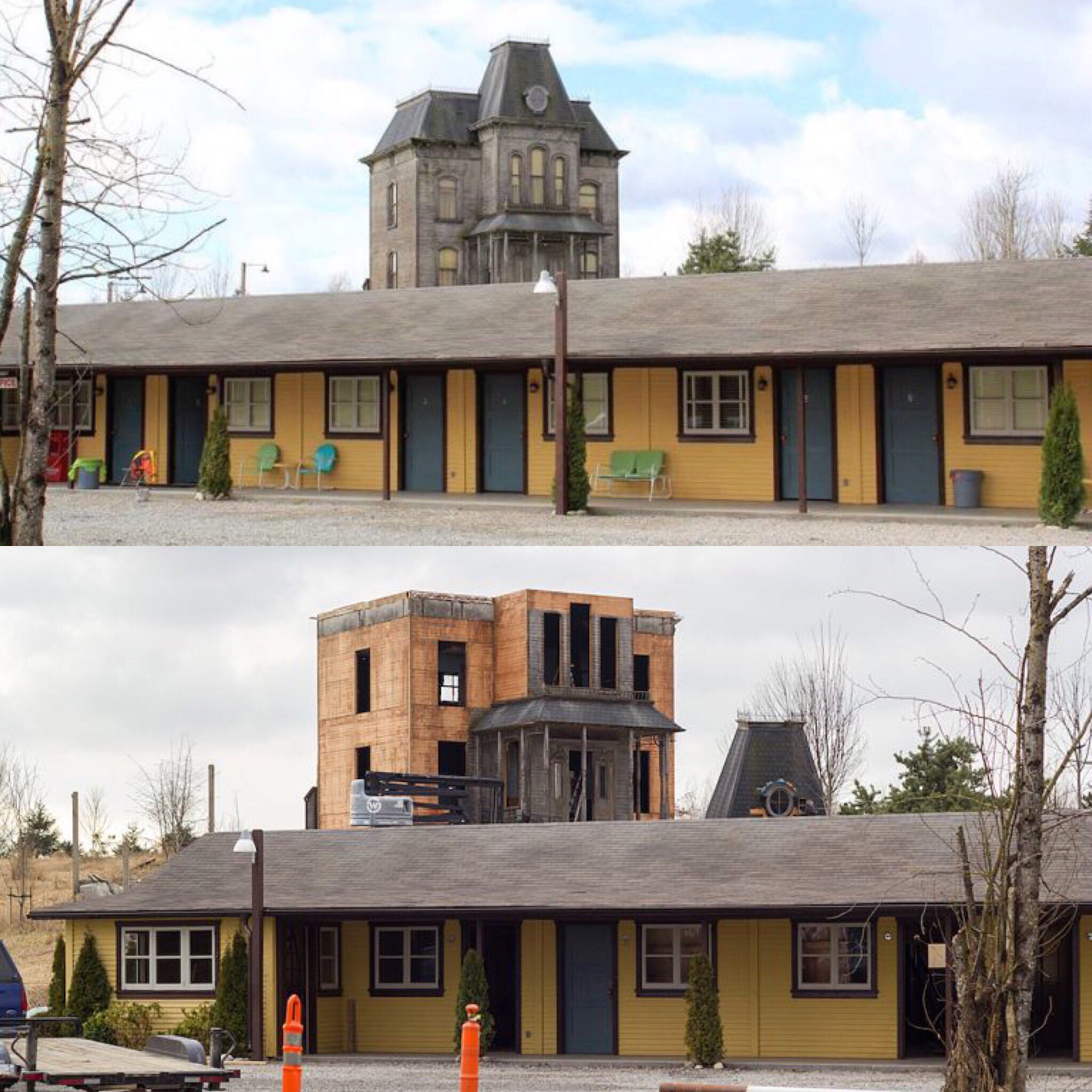 Bates Motel: Norma Bates' Iconic Gothic Mansion In