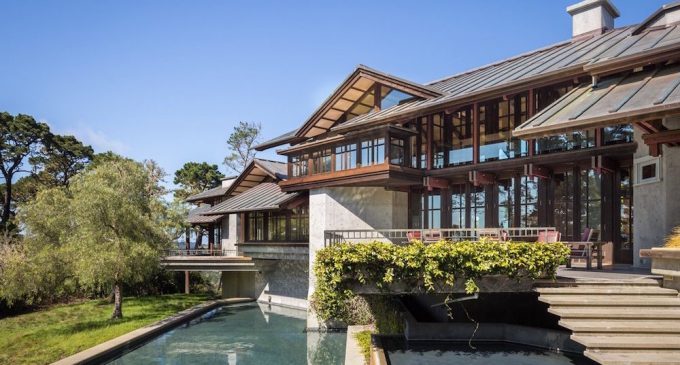 Architectural Masterpiece On 20-Acres Once Priced At $15-Million Sells For $6.767-Million (PHOTOS & VIDEO)