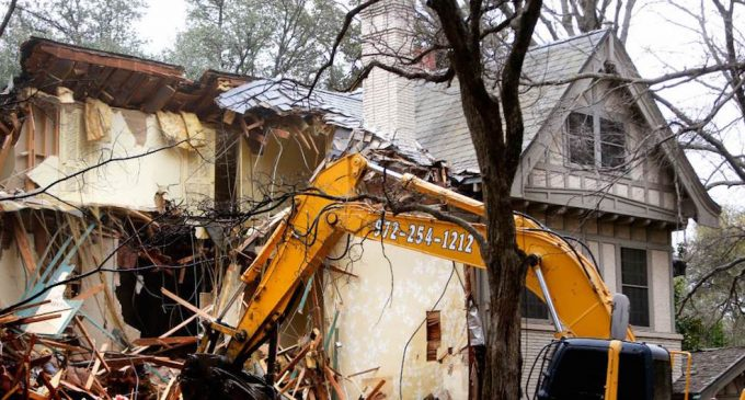 Historic 105-Year-Old 'Trammell Crow Estate' In Dallas, TX Demolished (PHOTOS & VIDEO)