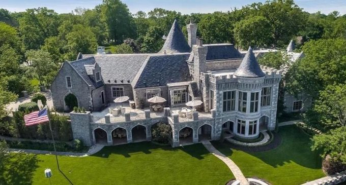 18,000 Sq. Ft. Camelot Castle Replica On Weatherby Lake In Kansas City, MO Yours For $7.8M (PHOTOS)