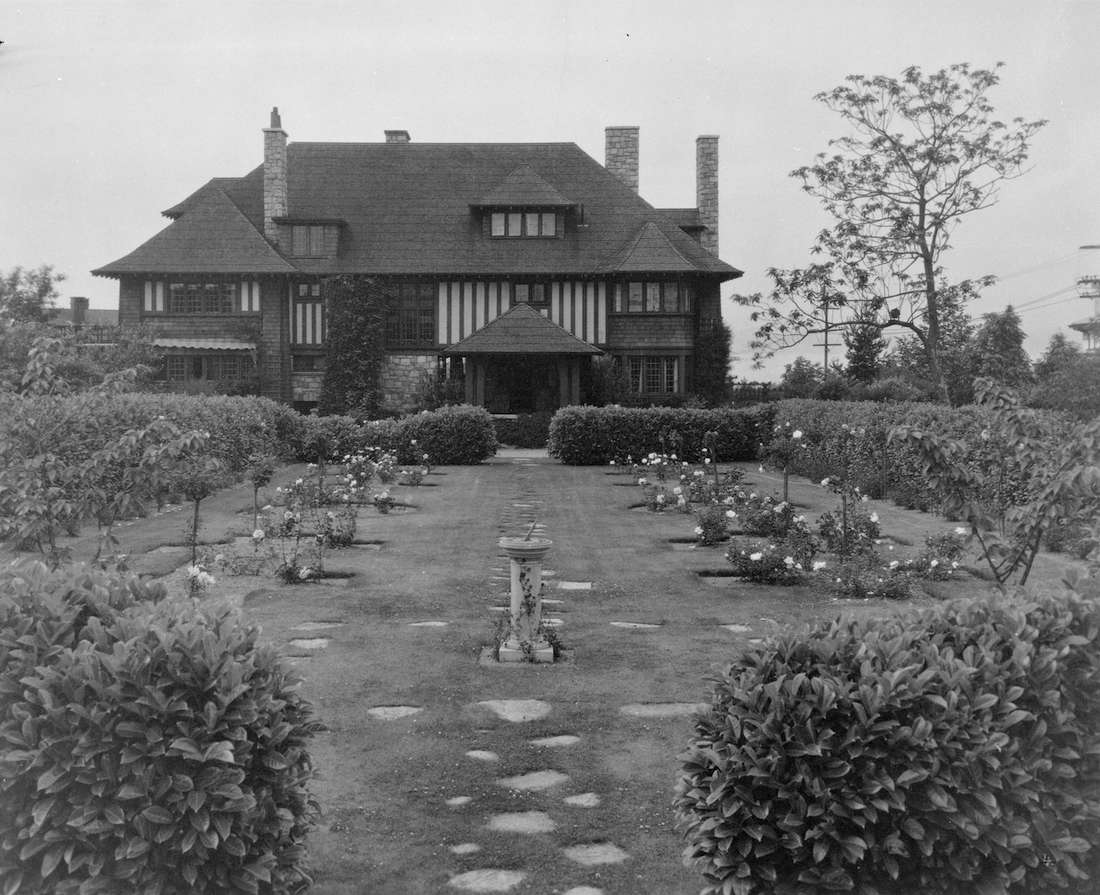 Historic C 1912 Shaughnessy Mansion Built For Former