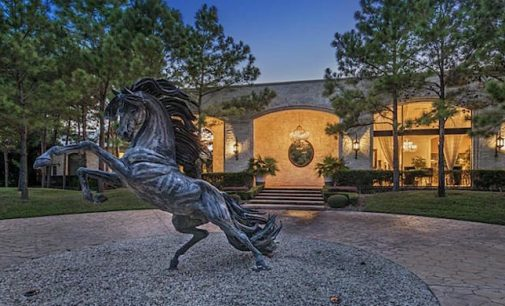 Incomparable 23,500 Sq. Ft Home On 64-Acres With 10-Car Showroom, Stables, 3 Swimming Pools, & Indoor Tennis Court Reduced To $14-Million (PHOTOS)