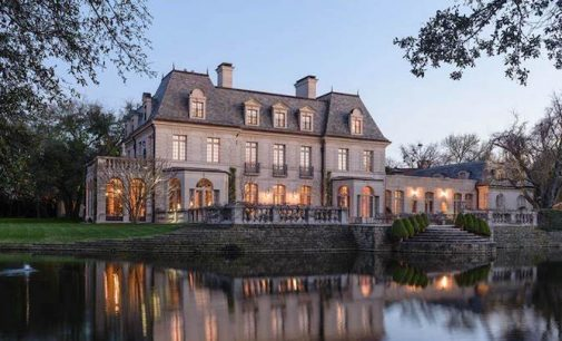 20,000 Sq. Ft. French Renaissance-Style Dallas Mansion on 3.2 Acres Reduced to $24.5M (PHOTOS)