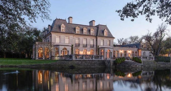 20,000 Sq. Ft. French Renaissance-Style Dallas Mansion On 3.2-Acres Reduced to $24.5M (PHOTOS)