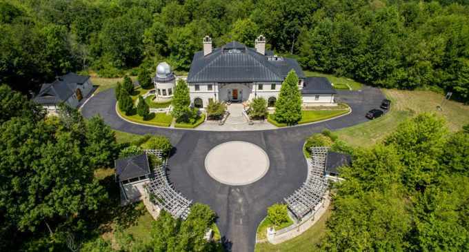 """Dogwood Manor,"" 9,000 Sq. Ft. Michigan Home on 50-Acres with Private Observatory Reduced to $5.2M (PHOTOS)"