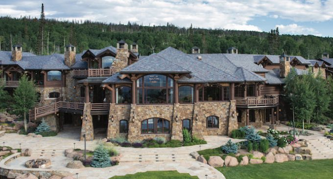 'Aspen Grove Ranch' – 10 Bed / 19 Bath 24,400 Sq. Ft. Lodge on 350 Acres in Kremmling, CO for $28.5M (PHOTOS & VIDEO)