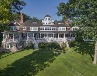 17,500 Sq. Ft. Shingle-Style Manor On 38-Acres On Lake Macatawa Once Priced At $18.9-Million, Now Yours For $9.9-Million (PHOTOS)