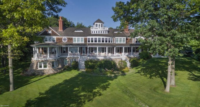 17,500 Sq. Ft. Shingle-Style Manor on 38 Acres on Lake Macatawa Once Priced at $18.9M, Reduced to $8.9M (PHOTOS)