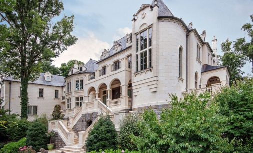16,000 Sq. Ft. 5 Bed / 10 Bath Limestone Manor in Asheville, NC Yours for $10.75M (PHOTOS & VIDEO)