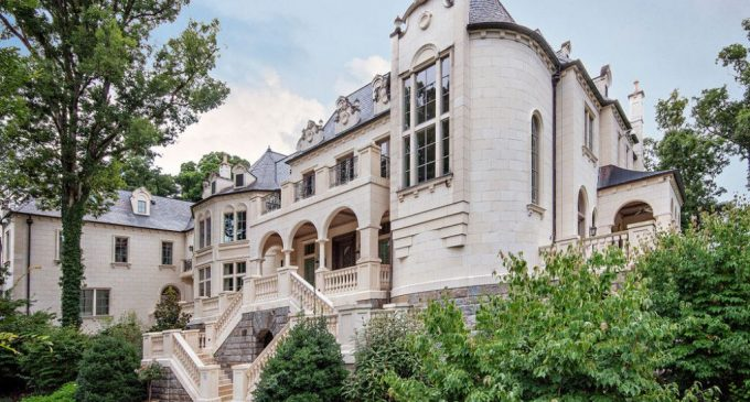 16,000 Sq. Ft. Limestone Manor in Biltmore Forest Country Club for $10.75M (PHOTOS & VIDEO)
