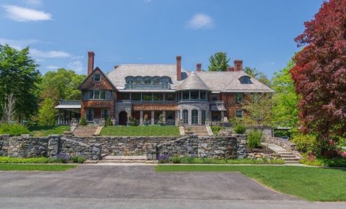 Renovated c.1905 14,000 Sq. Ft. Shingle-Style New England Manor Asks $4.995-Million (PHOTOS)