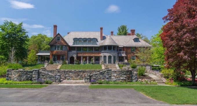 Renovated c.1905 14,000 Sq. Ft. Shingle-Style New England Manor Sells for $4.1M (PHOTOS)