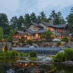 6,800 Sq. Ft. Arts & Crafts Home On 21-Acres In Camden, ME Yours For $9.7-Million (PHOTOS & VIDEO)