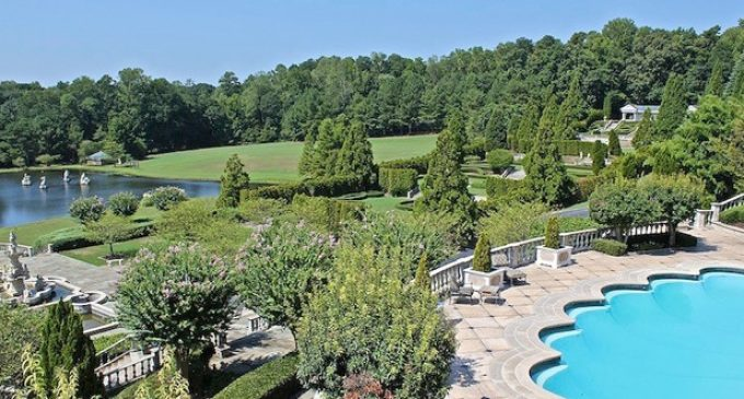Former 58 Acre Dean Gardens Estate in Johns Creek, GA For Sale ...