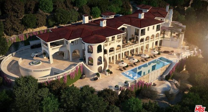 40,000 Sq. Ft. 8 Bed / 21 Bath Spanish Villa Under Construction In Los Angeles, CA, Yours For $75-Million (PHOTOS & VIDEO)