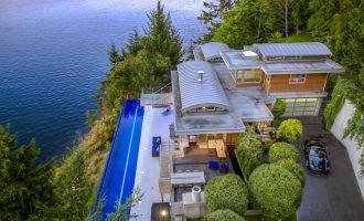 'Cascadia' – North Saanich, BC's 1.59-Acre Award-Winning Dream Home Yours For $6.5-Million (PHOTOS & VIDEO)